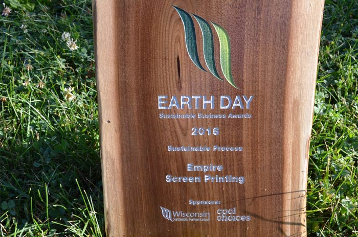 earth day sustainable business award 2016