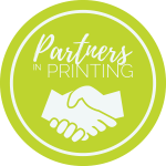 partners in printing logo